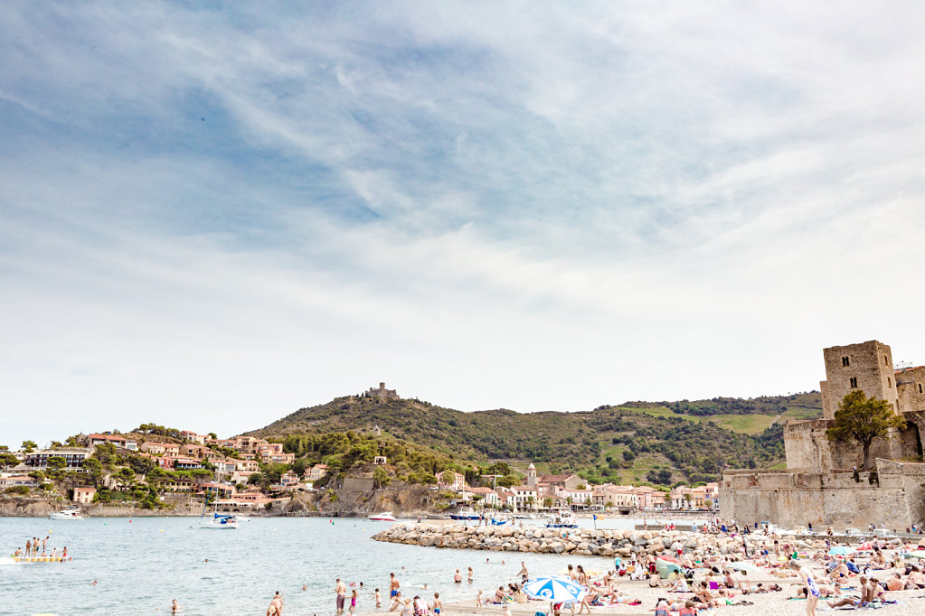 Royal Castel of Collioure / France