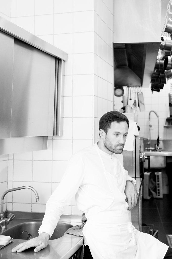 Chef Damien Bouchéry - Bouchéry Restaurant (Brussels - Belgium)