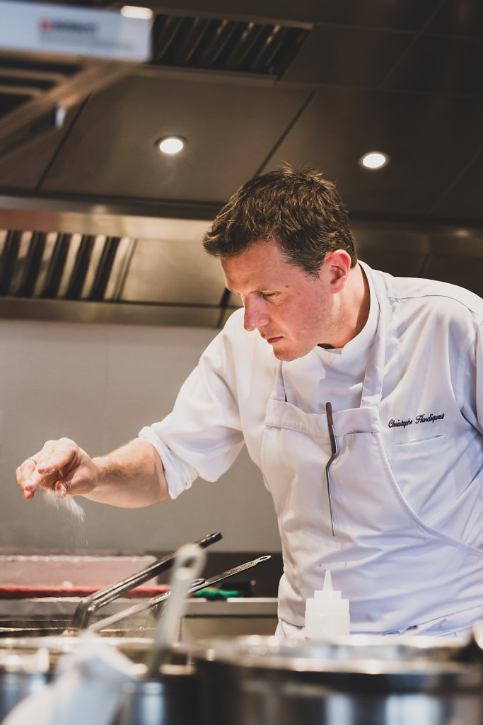 Chef Christophe Hardiquest (Brussels - Belgium)