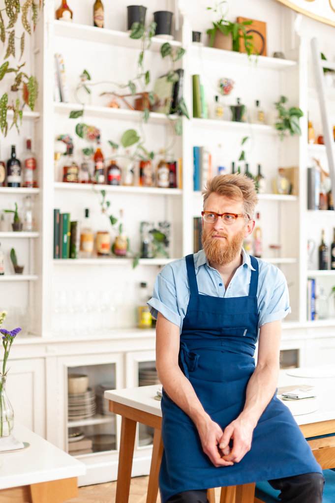 Chef Nicolas Decloedt / Humus x Hortense Restaurant / Belgium