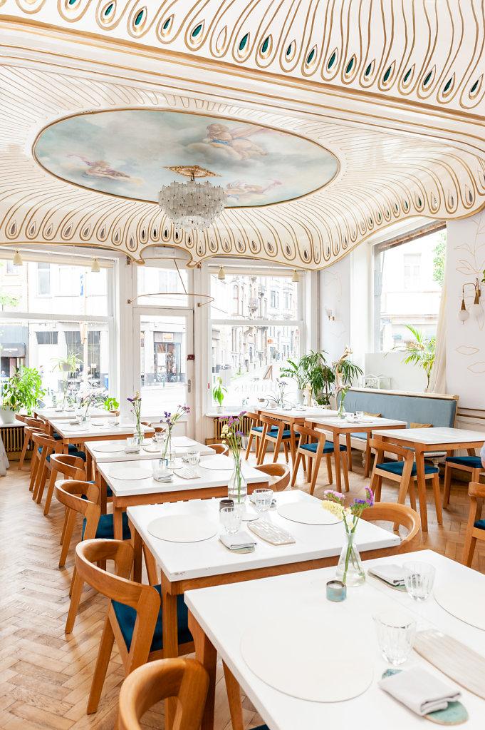 Humus x Hortense Restaurant / Belgium