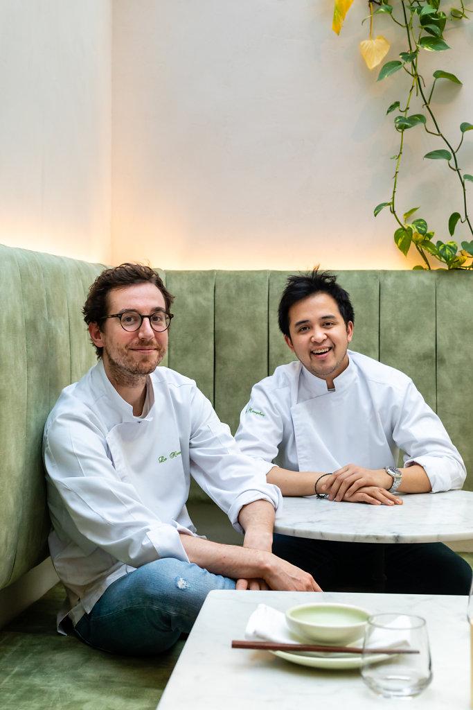 Chefs Anh-Tu Pham & Jerry Van Peteghem / Nénu Restaurant / Belgium
