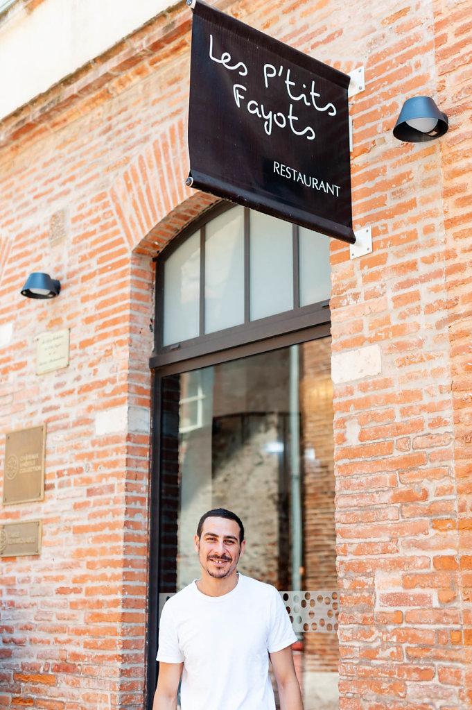 Chef Aziz Mokhtari / Les tits Fayots Restaurant / France